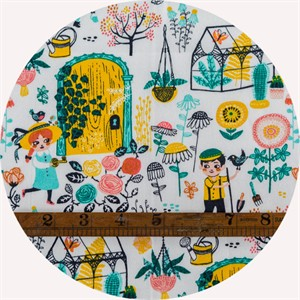 Miriam Bos for Birch Organic Fabrics, The Hidden Garden, Hidden Garden Main