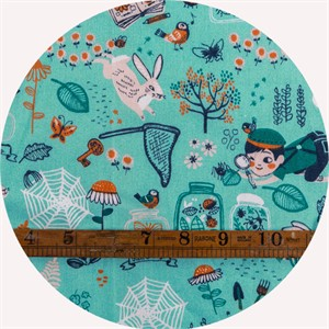 Miriam Bos for Birch Organic Fabrics, The Hidden Garden, Bug Catcher