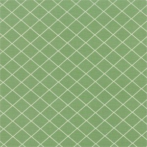 Moda, Bread N Butter, Diamond Grid Green