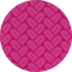 Rashida Coleman-Hale for Cotton and Steel, Macrame, Braidy Fuschia
