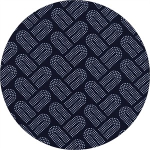 Rashida Coleman-Hale for Cotton and Steel, Macrame, Braidy Navy