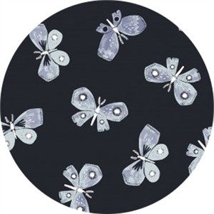 Rae Ritchie for Dear Stella, Honey Bee, Butterflies Navy