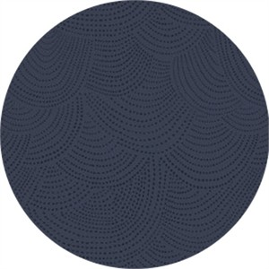 Rae Ritchie for Dear Stella, Foxtail Forest, Scallop Dot Navy