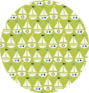 Windham Fabrics, Seaside, My Boat Lime