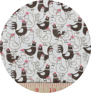 Cosmo Textiles, DOUBLE GAUZE, Chicks Brown