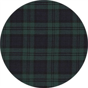 Sevenberry for Robert Kaufman, Classic Plaid TWILL, Hunter