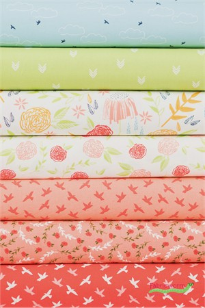 Moda, Creekside Daytime in FAT QUARTERS 7 Total