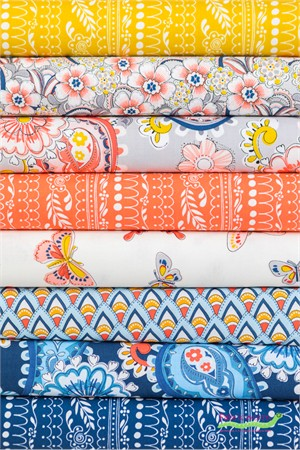 Michael Miller, Daisy Paisley in FAT QUARTERS 8 Total
