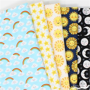 Andie Hanna for Robert Kaufman, Daydreamer in FAT QUARTERS 4 Total (PRECUT)