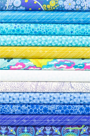 Alison Glass for Andover, Diving Board, Surf in FAT QUARTERS 12 Total