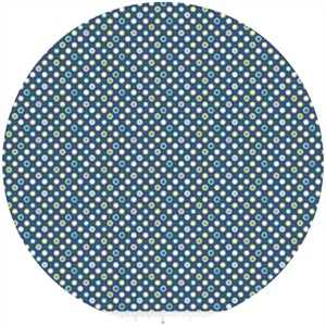 Deena Rutter, Wheels 2, Dots Blue