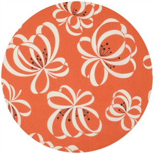 Denyse Schmidt for Free Spirit, Katie Jump Rope, Ribbon Flower Orange