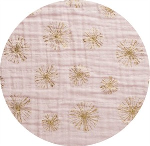 Shannon Fabrics, Embrace, DOUBLE GAUZE, Make a Wish Metallic