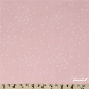 Japanese Import, DOUBLE GAUZE, Spotted Flight Pink