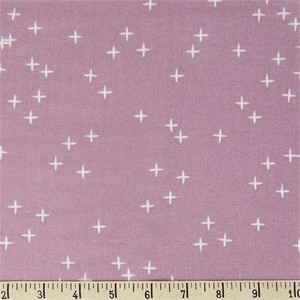AVAILABLE FOR PREORDER, Birch Organic Fabrics, Mod Basics 3, DOUBLE GAUZE, Wink Lavender