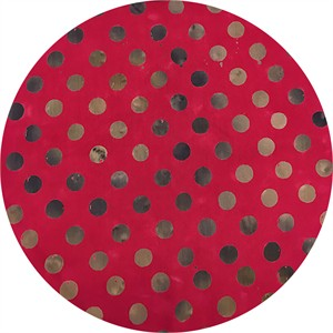 Alison Glass for Andover, Handcrafted Patchwork, Dot Magenta