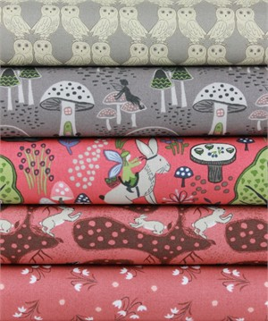 Lewis & Irene, Enchanted Forest, Dusk in FAT QUARTERS 5 Total