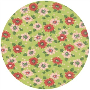 Erin Michael for Moda Fabrics, Purebred, Feedsack Pasture Green