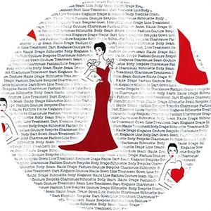 Robert Kaufman, City Chic, Evening Gown Red
