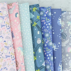 Lewis & Irene, Fairy Lights Glow in the Dark in FAT QUARTERS 7 Total