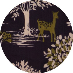 Japanese Import, LAWN, Fairytale Forest Midnight