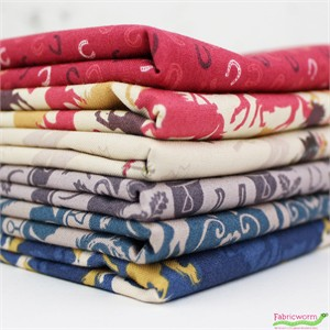 Lewis & Irene, Farley Mount in FAT QUARTERS 6 Total (PRECUT)