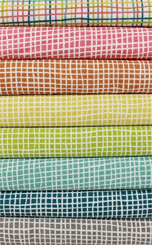 Jay-Cyn Designs for Birch Organic Fabrics, Farm Fresh, Woven in FAT QUARTERS 8 Total (PRECUT)