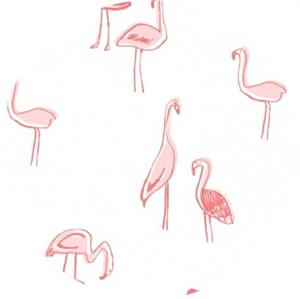 Dear Stella, Tropic Like It's Hot, Flamingos White