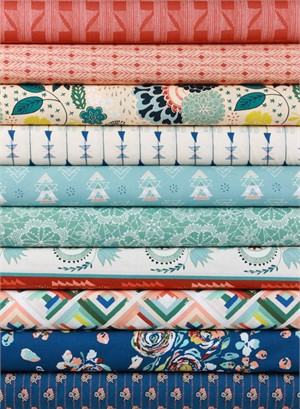 Maureen Cracknell for Art Gallery, Fleet & Flourish in FAT QUARTERS 10 Total