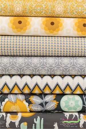 Joel Dewberry for Free Spirit, Florabelle Tucson in FAT QUARTERS 7 Total