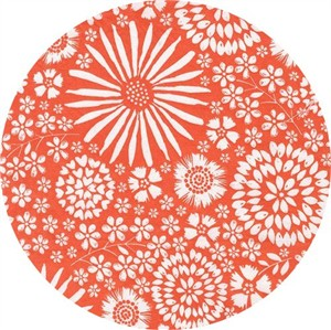 Michael Miller, Wide Backs 108, WIDE WIDTH, Flora Pop Coral