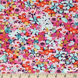 Art Gallery Fabrics, Splendid Fusion, Flowered Medley
