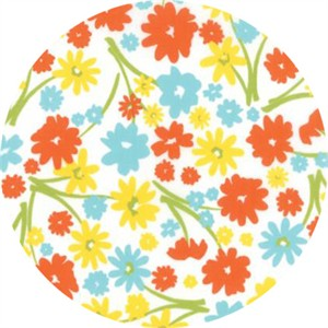 April Rosenthal for Moda, Mama's Cottage, Flower Patch Citrus