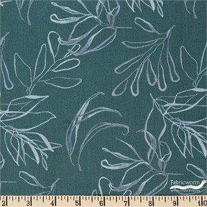 Kelly Ventura for Windham, Botany, Foliage Teal