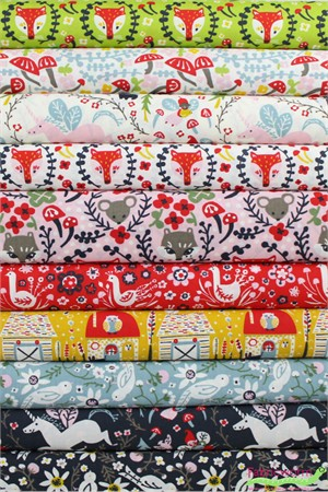 Kristen Balouch for Birch Organic Fabrics, Folkland 10 Total