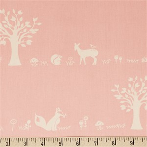 COMING SOON, Jay-Cyn Designs for Birch Organic Fabrics, Storyboek Drie, Forest Friends Blush