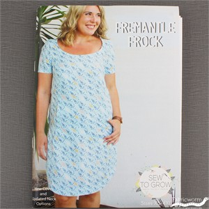 Sew To Grow, Sewing Pattern, Fremantle Frock