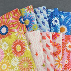 Melody Miller for Cotton and Steel, Freshly Picked in FAT QUARTERS 10 Total