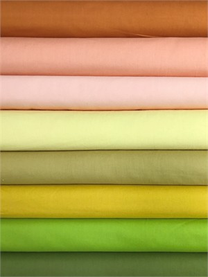 Birch Organic Fabrics, Mod Basics, Solid Fresh Squeezed 7 Total