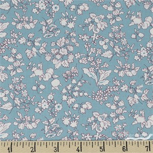 COMING SOON, Liberty London Fabrics, The Orchard Garden, Fruit Silhouette Teal