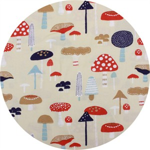 Japanese Import, Fungi Forest Beige