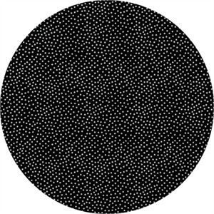 Michael Miller, Bed of Roses, Garden Pindot Black