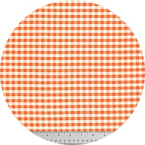 Verna Mosquera for Free Spirit, Candelabra, Ghastly Gingham Orange