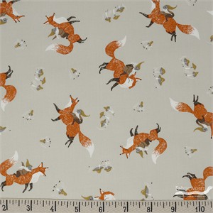 COMING SOON, Rae Ritchie for Dear Stella, Black Forest, Gnomes and Foxes Wheat