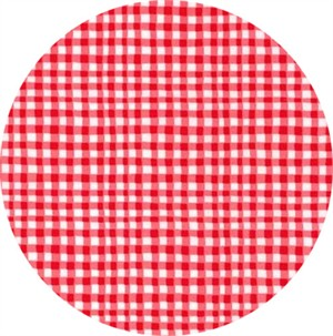 Michael Miller, Gingham Play, Cherry