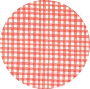 Michael Miller, Gingham Play, Coral