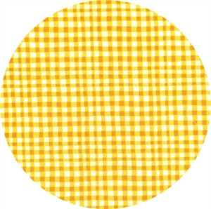 Michael Miller, Gingham Play, Marigold