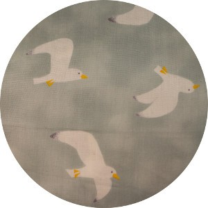 Japanese Import, DOUBLE GAUZE, Gulls Cloud