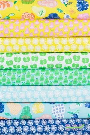 Windham Fabrics, ORGANIC, Hand Picked in FAT QUARTERS 8 Total