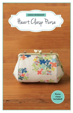 Zakka Workshop, Heart Clasp Purse Kit